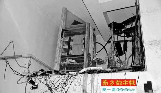 """而""""黑宽带""""的经营者通过租用运营商一条或者几条电路,不能提供一对一"""