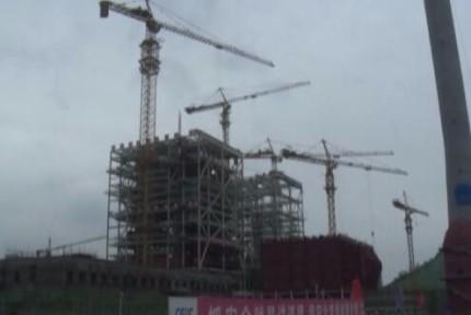 京能十堰热电联产项目进入设备大安装阶段
