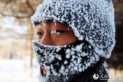 致敬!漠河哨兵-40℃严寒中巡逻边境