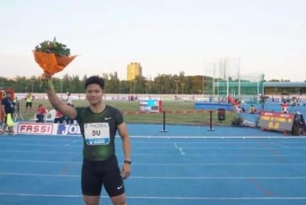 苏炳添9秒91再破黄种人百米纪录!