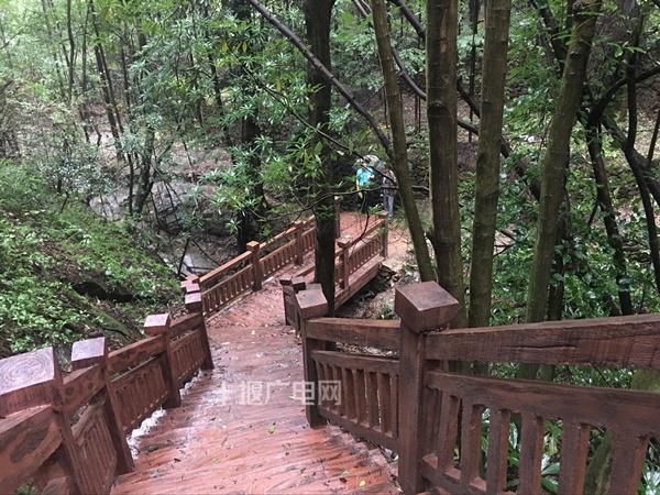一线串珠,牛头山国家森林公园游步道建成