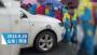 菏泽女教师开车顶行学生系在其工作学校门口 被学校责令检讨