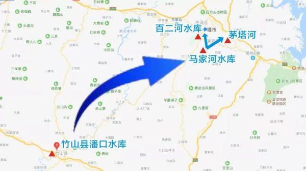 竹山潘口水库引水线路