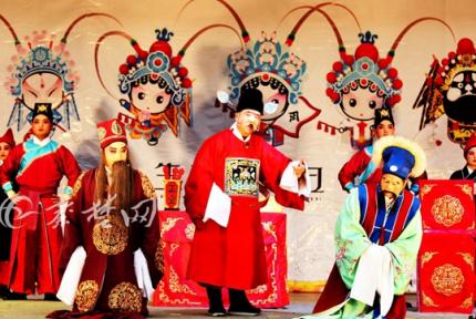 过大年唱大戏 春节,这群十堰人过足了戏瘾