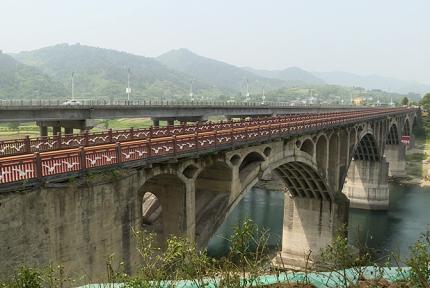 十堰老黄龙大桥修复一新 5月1日起迎接游客
