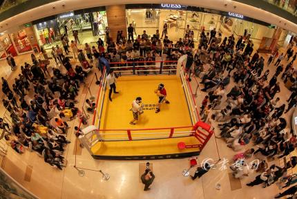 勇敢者的对决!十堰小伙对战WBC中国拳王