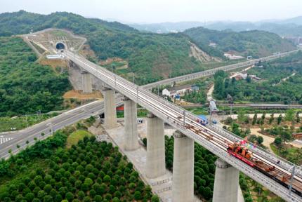 快看,汉十高铁最新进展来啦!