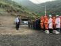 竹山億元綠松石企業本月底將全面復工建設