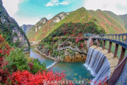 鄖西五龍河:奇峰秀水看不盡