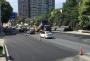 北京北路:路面施工收尾 瀝青鋪設今天完成