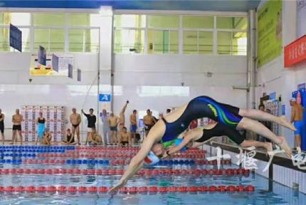 十堰的游泳健兒們,市六運會游泳項目開始報名啦!