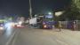 汉十高铁十堰北站互通立交主线桥钢箱梁吊装完成四分之一