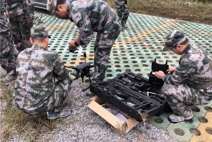 鄂陕两省开展人防机动指挥通信跨区域联合演练