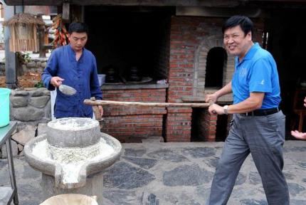十堰:感受農耕文化 樂享國慶假期