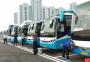 十堰54台客运车亮相军运会 为各国运动员保驾护航