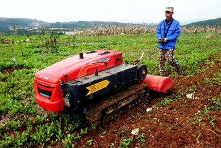 高科技走進鄖陽山村!村民耕地如同玩游戲