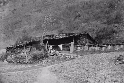 罕見!1910年房縣的群山林海景觀