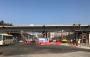 江苏路延长线跨火箭路立交桥桥梁吊装完工
