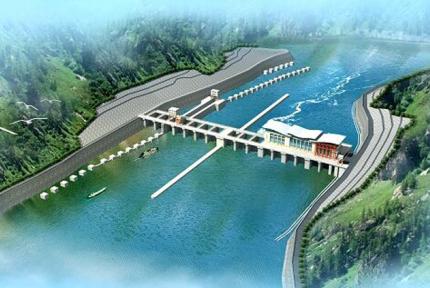 重磅!汉江夹河关电站首台机组正式发电!
