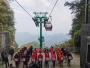 武当山:应急救援演练,保障索道客运生命线