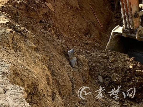 《【杏耀平台登录地址】重庆路一处天然气管道被挖破 预计最迟今晚之前抢修完毕》