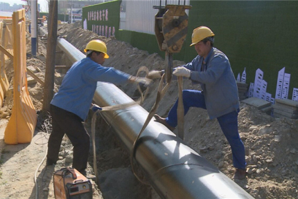 缓解沿线用水难,十堰经开区新建一条供水管道