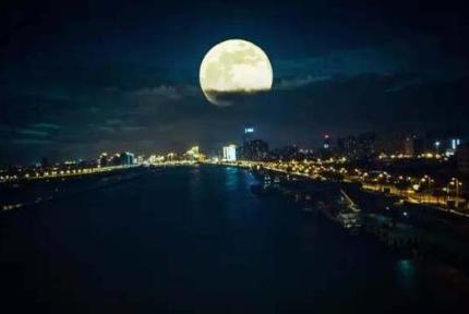 今年十五的月亮十五圆 十堰这些地方利于赏月
