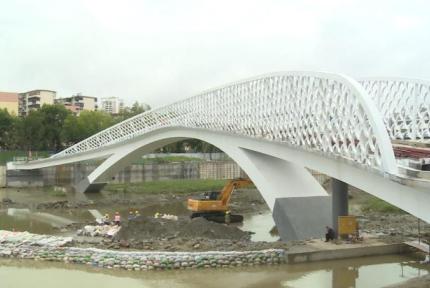 百二河13座桥梁主体建设完工,2座即将开放!